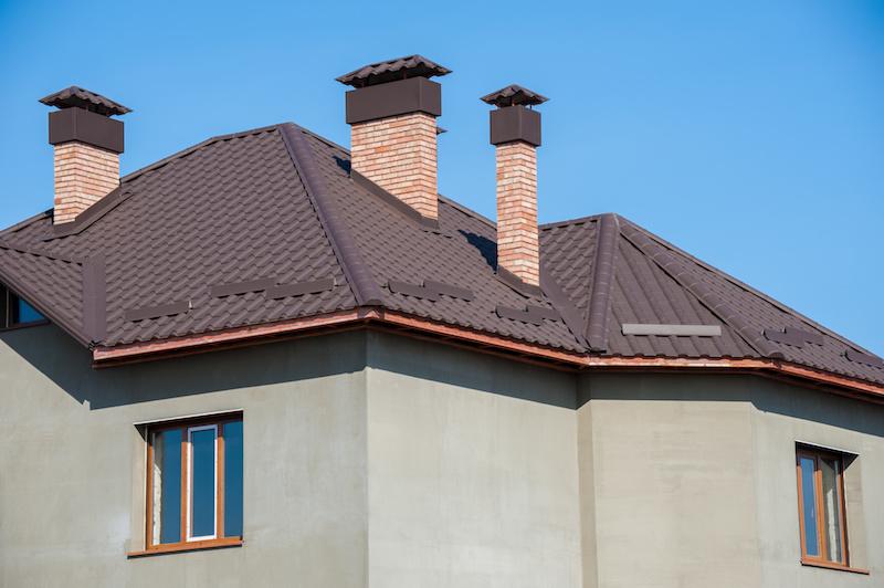 えんとつのある屋根